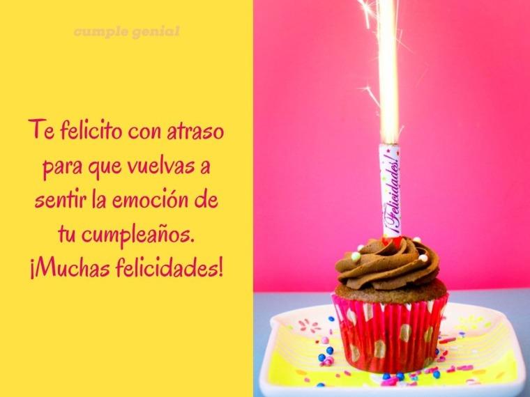 La emoción de tu cumpleaños