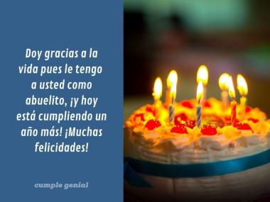 Feliz Cumpleaños Abuelito Cumple Genial