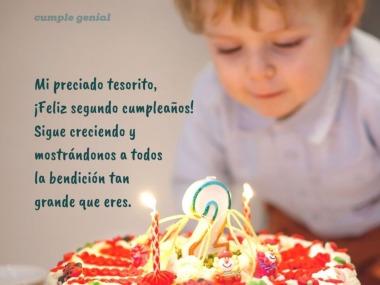 Mensajes De Cumpleaños De 2 Años Cumple Genial