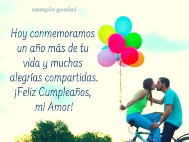 Feliz Cumpleaños Para Mi Amor Cumple Genial